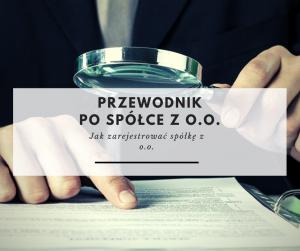 Przewodnik po spółce z o.o. cz.2